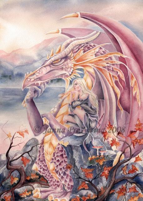 fairy magyk ecards - janna prosvirina
