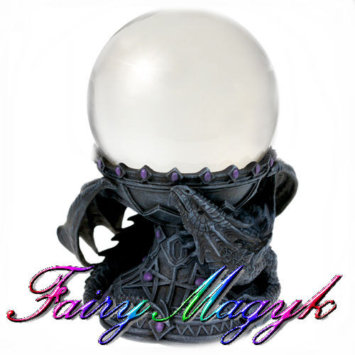 Anne Stokes Dragon Beauty Crystall Ball Holder