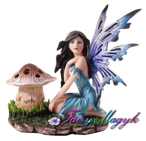 Nemesis Now Fairy with Incense Burner Luminaria