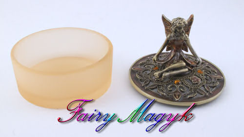 Fairy Trinket Box by Leonardo (Gold) - Click Image to Close