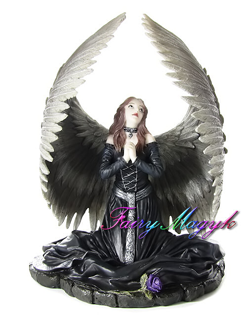 Anne Stokes Angel Figurine Prayer For The Fallen